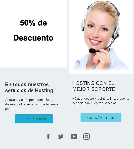Crear campaña de Email Marketing