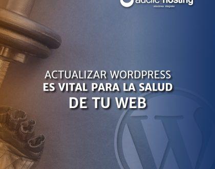 Actualizar WordPress a la ultima versión