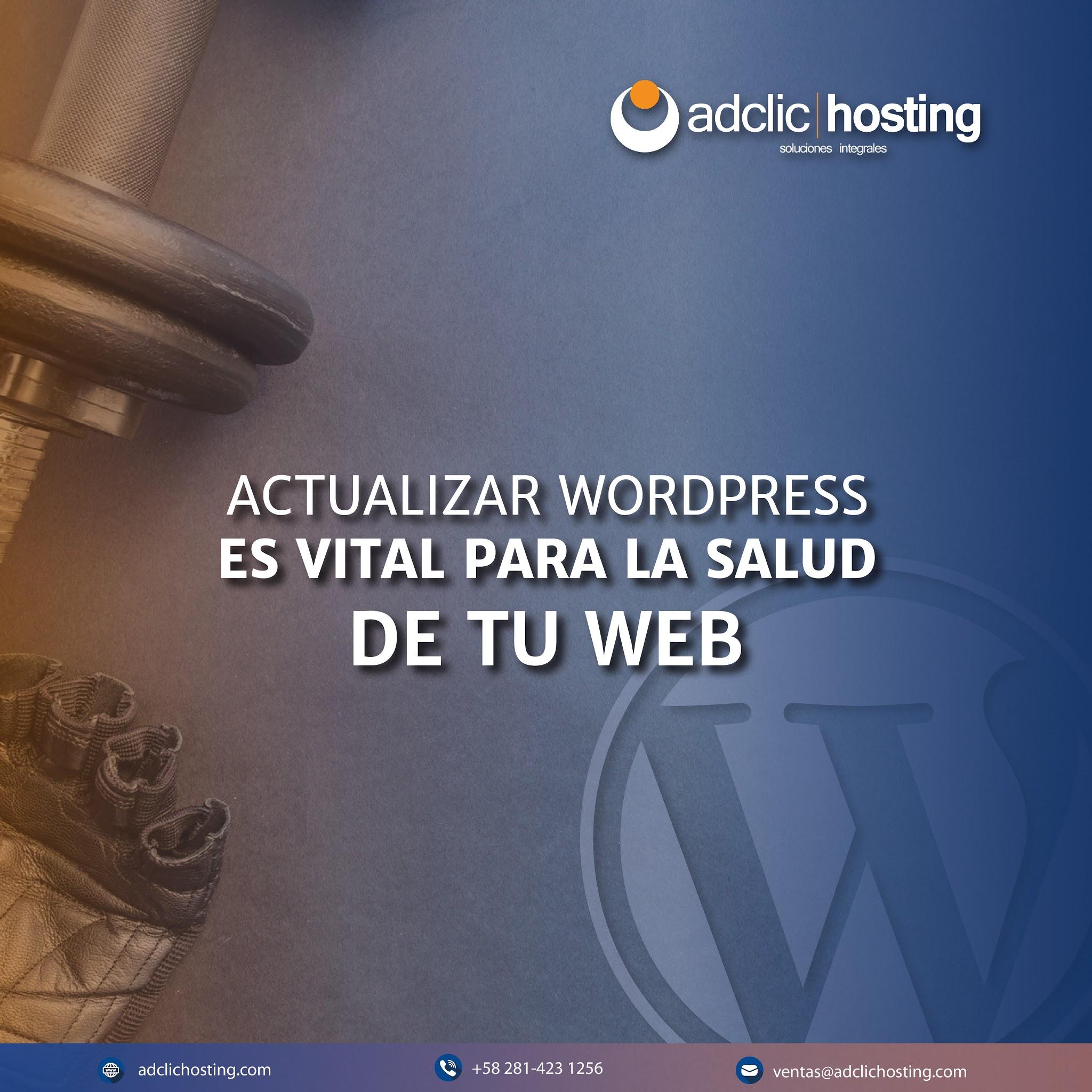 Actualizar Versión de WordPress