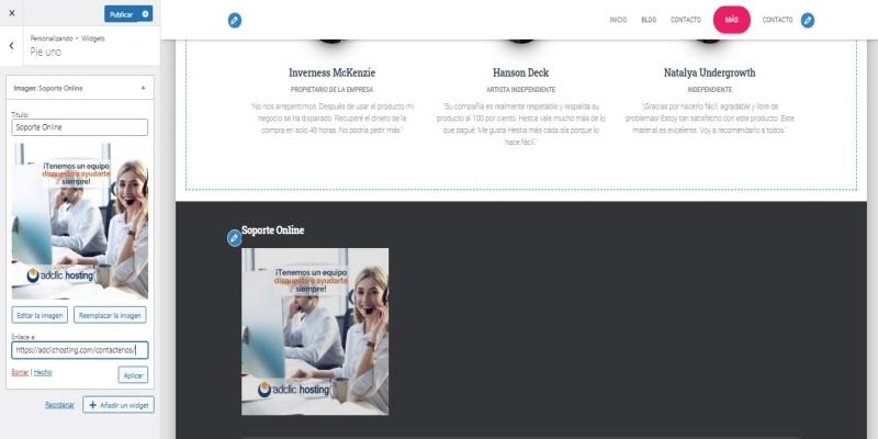 publicidad wordpress