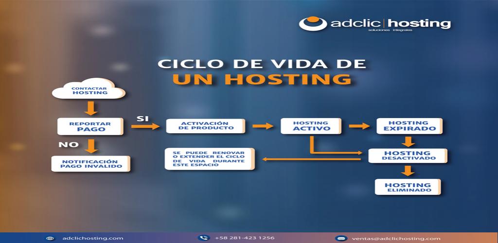 como funciona el hosting