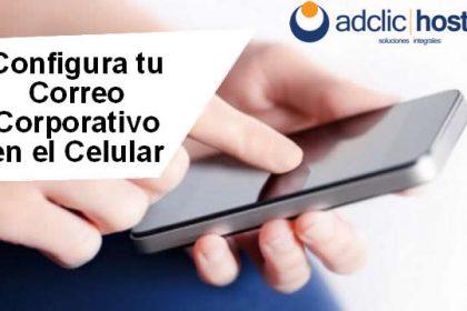 Configura tu correo corporativo en el teléfono móvil