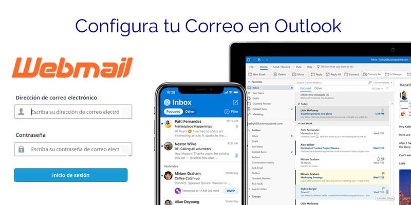 Configurar correo de cPanel en Outlook