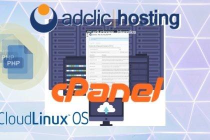 Cambiar los valores de php.ini en Cloudlinux y Cpanel