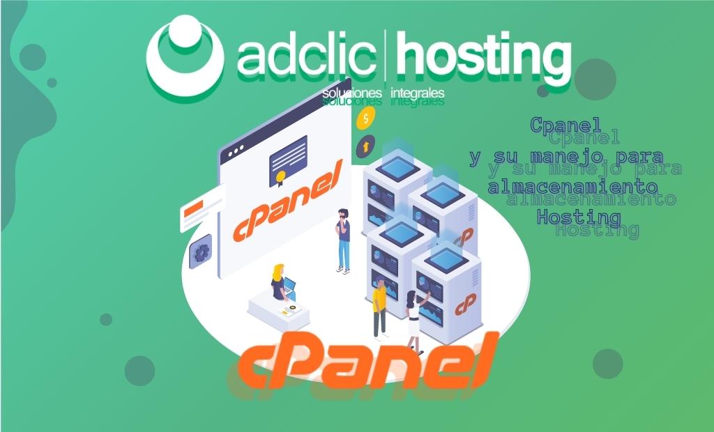 Cpanel y su manejo para almacenamiento Hosting