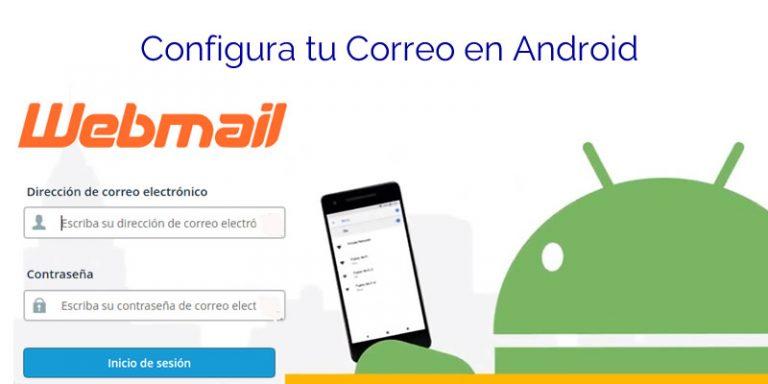 Configurar correo de cPanel en Android