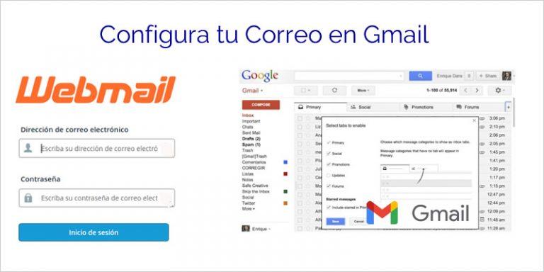 Configurar tu correo de Cpanel en Gmail