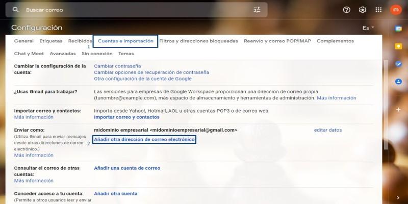 correo corporativo en Gmail3