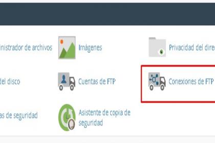 ¿Cómo administrar cuentas FTP con Cpanel?