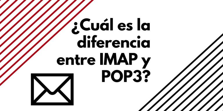 Diferencias entre pop3 e imap