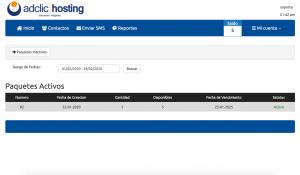 Plataforma SMS Masivos Paquetes
