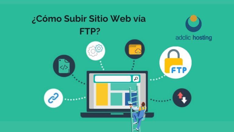 Subir Sitio Web vía FTP