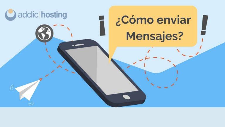 Como enviar mensajes
