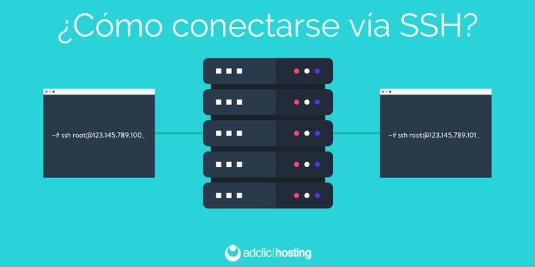 ¿Cómo conectarse vía SSH a mi servidor?