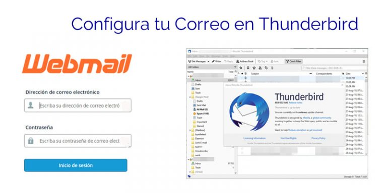 Configurar correo de cPanel en Thunderbird