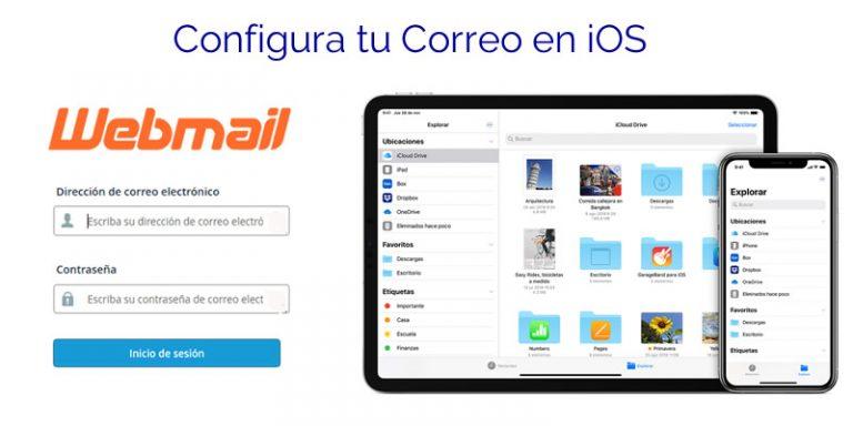 Configurar tu correo de Cpanel en iOS
