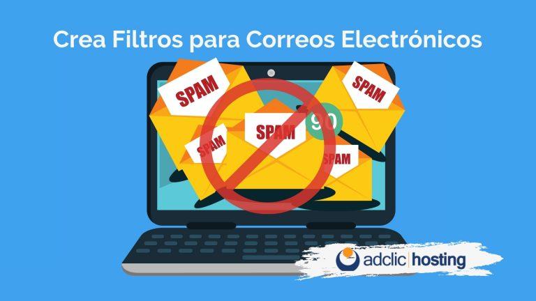 Crea Filtros para correos electrónicos