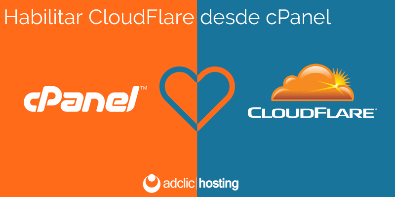 Habilitar CloudFlare desde cPanel