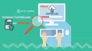Instala un Certificado SSL desde cPanel