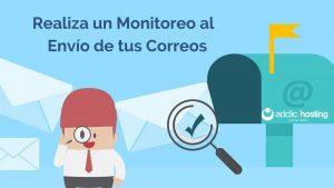 Monitorizar el envío de un correo
