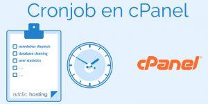 ¿Qué es una Tarea Cron y cómo crear un Cron Job en cPanel?