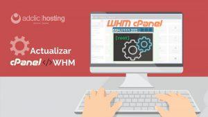 Actualizar el Cpanel/WHM