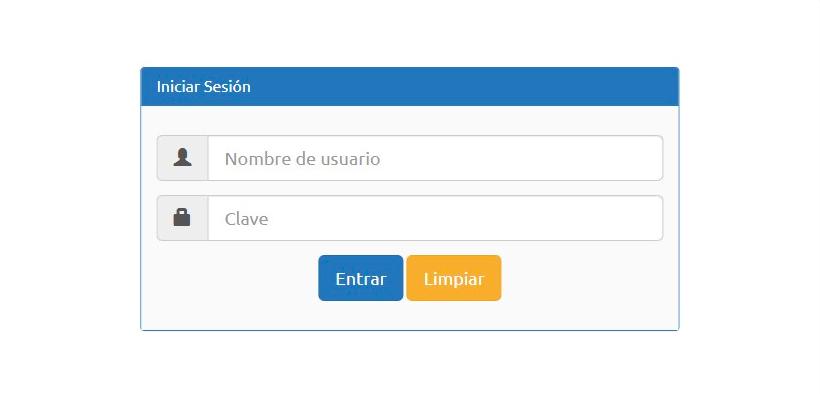 Inicio Sesión Plataforma SMS