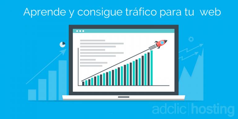 conseguir tráfico para tu página web