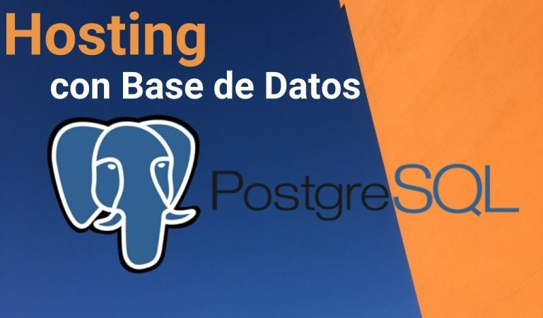 Hosting con PostgreSQL